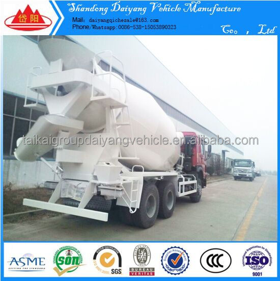 HOT !!!6x4 (290HP Euro2 8CBM Concrete mixer truck, Cement mixer truck, transit mixer