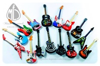 Guitars magnets hand made & hand airbrushed