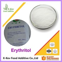 bulk organic sweetener crystallized powder erythritol