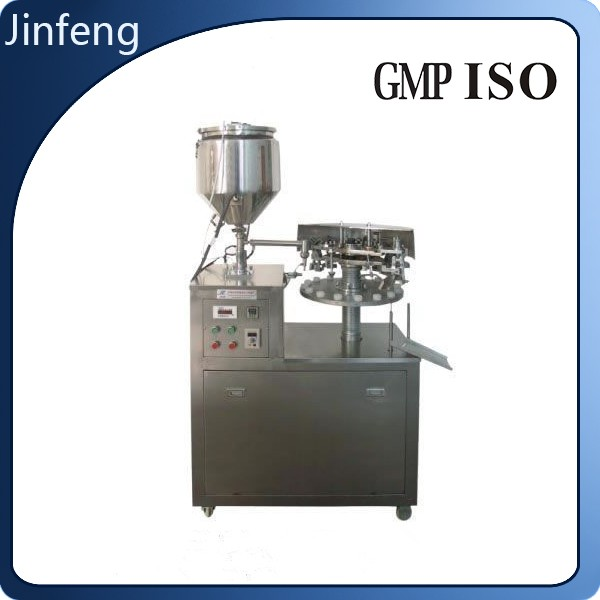 Cup Filling And Sealing Machine Tube Automatic Fill