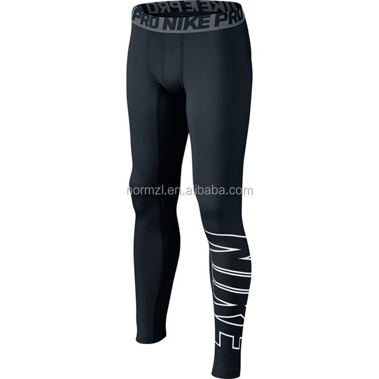 OEM high quality hot Compression Wear men's Fitness pants