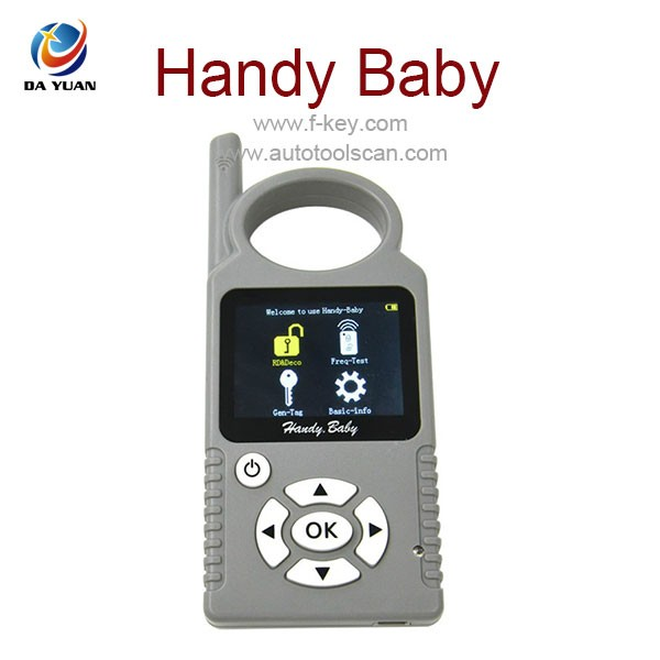 Mini Hand Held smart Key Maker Handy Baby Key Programmer Copy 4D 46 48 Chips AKP101