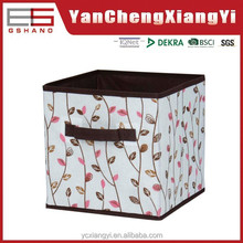 laminated tote recycled cardboard open storage bins box