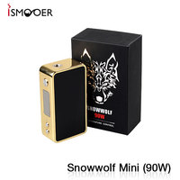 Great desigh snow wolf mini 90w newest desigh 90w snow wolf mini e cigarette box mod snow wolf 90w