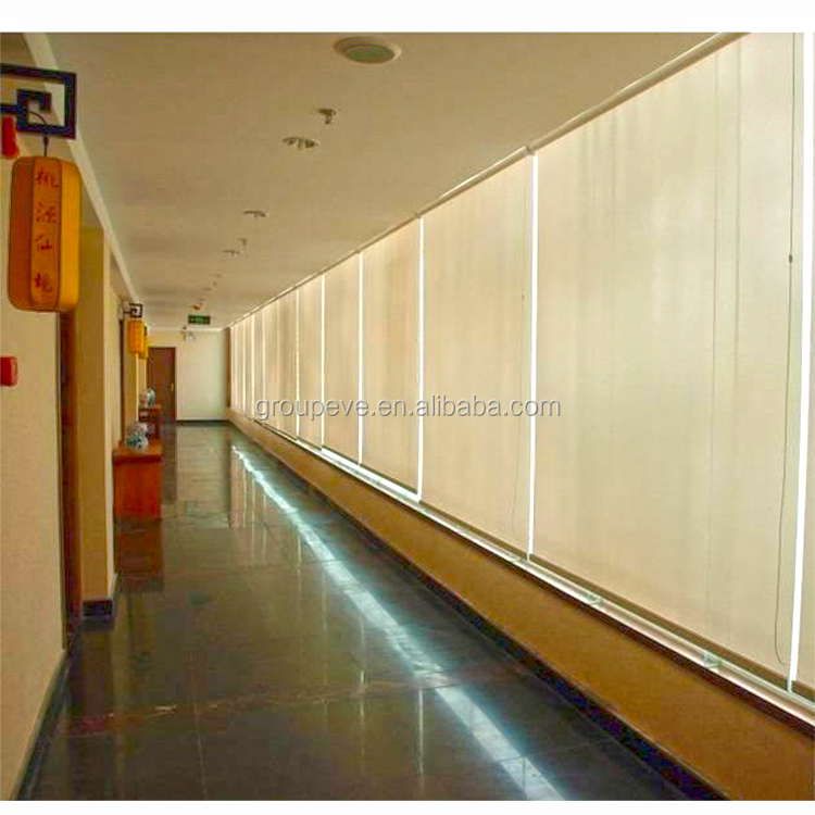 High Quality Roller Sunscreen Blinds Interior Sun Control Fabric