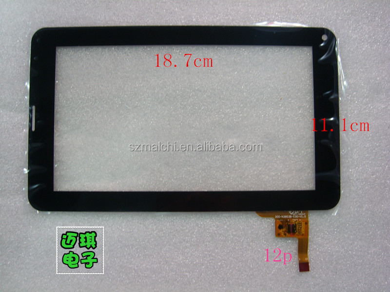 "7"" Capacitive touch panel digitizer touch panel glass for Ployer momo9 Enhanced III Freeland PH20 TABLET PC/MID 300-N3803B-B00"