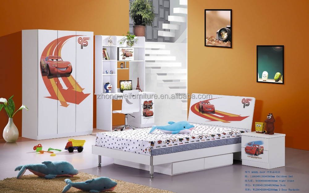 kids cars bedroom furniture/race car bedroom furniture