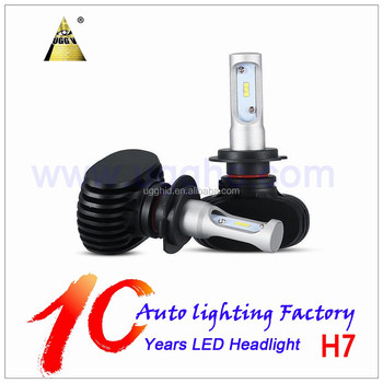 hotsale car led light led bulb headlight h7 50w S1