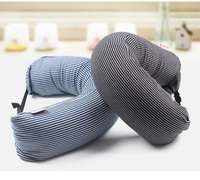 2 IN 1 Multifunction Neck Cushion with Stripe Designs