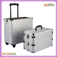 3 layers multi-funcional cheap trolley large train case for makeup