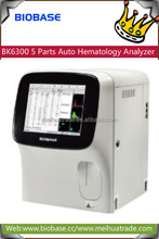 BIOBASE BK6300 5 Parts Auto Hematology Analyzer used to run tests on blood samples