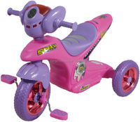 pink motor tricycle modeling kids bike 17719A