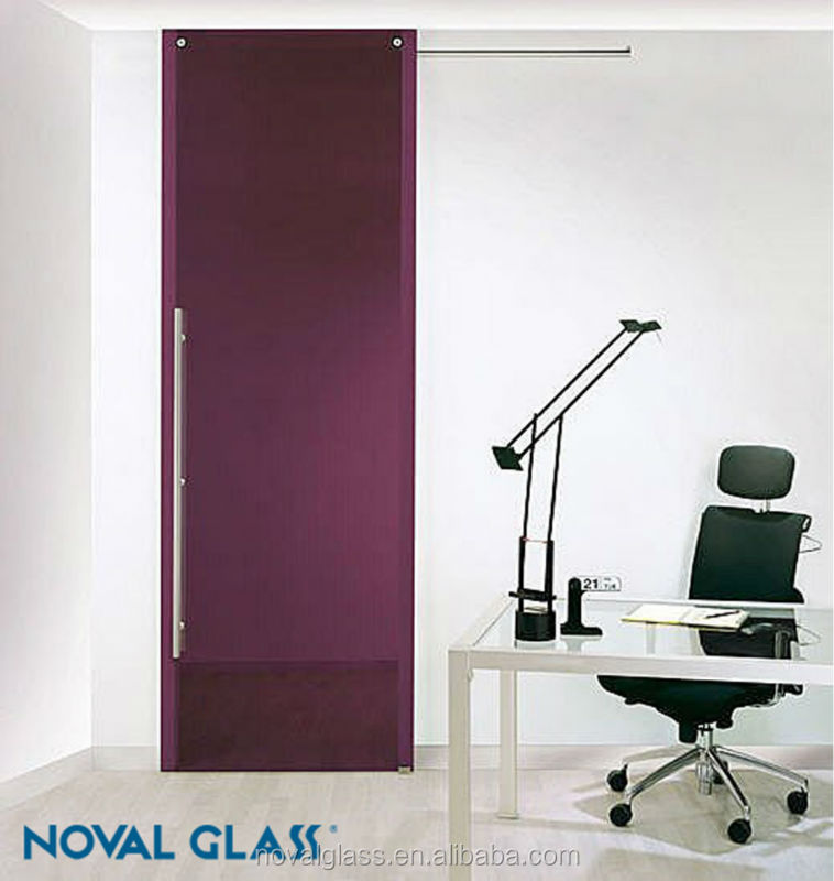 Clear and Colored Glass Door,Temper/Laminated/Frosted/Paint Glass Door