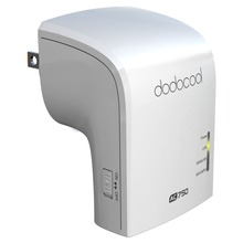 Dodocool AC750 Dual Band Wireless Wi-Fi AP / Repeater / Router Simultaneous 2.4GHz 300Mbps and 5GHz 433Mbps US Plug