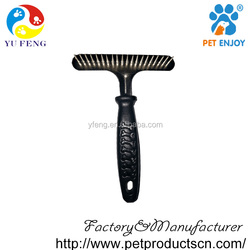 high quality pet Grooming brushes,stainless steel dog comb pet product brushes
