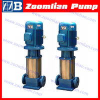 GDL vertical turbine centrifugal pump/vertical inline multistage centrifugal pump/vertical centrifugal pumps
