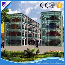 Three floor Automated Parking System car garage lift 3 Layer Smart Auto Parking System