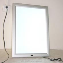 wall mounted poster frame led picture frames led backlit panel frame