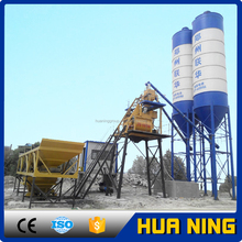 Stationary fully automatic 50m3/h concrete batching mixing plant price in malaysia for sale