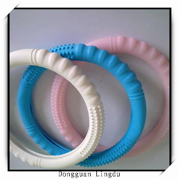 soft silicone 13 inch steering wheel cover