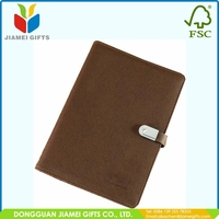 Custom Size Notebook With Usb And