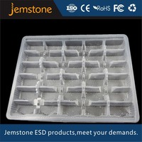 customized high quality stackable plastic tray