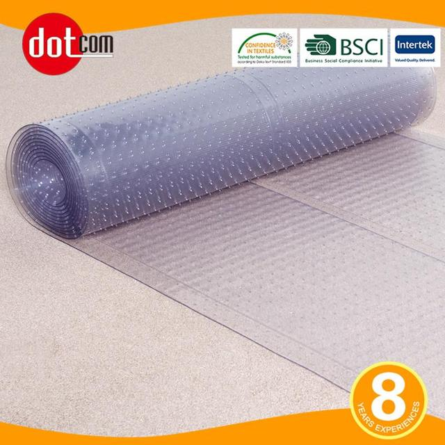 Multi Grip Ribbed Clear Runner Rug Carpet Protector Mat