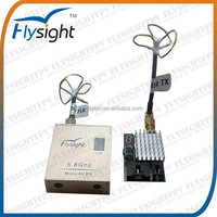 H1038 FPV Wireless 5.8G 2CH AV Video 2000M Transmitting Distance RF Transmitter and Receiver for FPV Remote Control Hobby