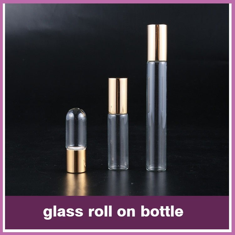 SRS luxury no leakage plastic 10ml vibrating eye roller