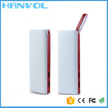 Hottest LED hand lamps mobile Portable Power Bank,8800mAh power bank