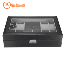 Factory price for PVC Window PU Leather Watch Box