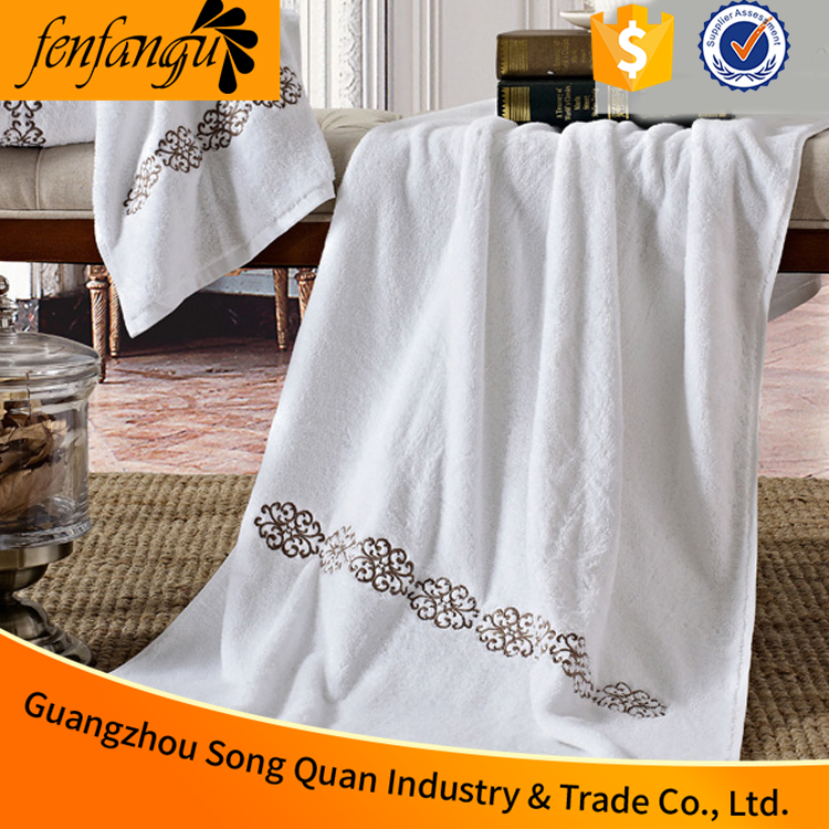 Guangzhou Song quan Cheap Promotional Wholesale Hotel Bath Towel, towels bath set 100% <strong>cotton</strong>