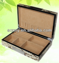 Stock five styles small wooden jewelry boxes wholesale