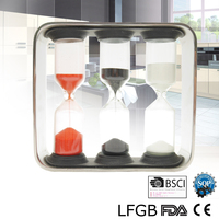 Parts bottle plastic mini hourglass