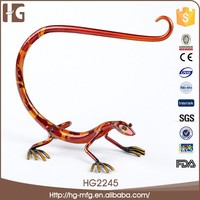 2015 Metal ladybug vintage decorative lizards shape 24x13x21 cm garden furniture decoration