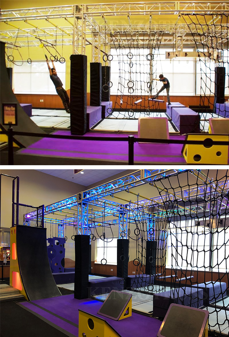 American Ninja Warrior Course Indoor Playground for Sale
