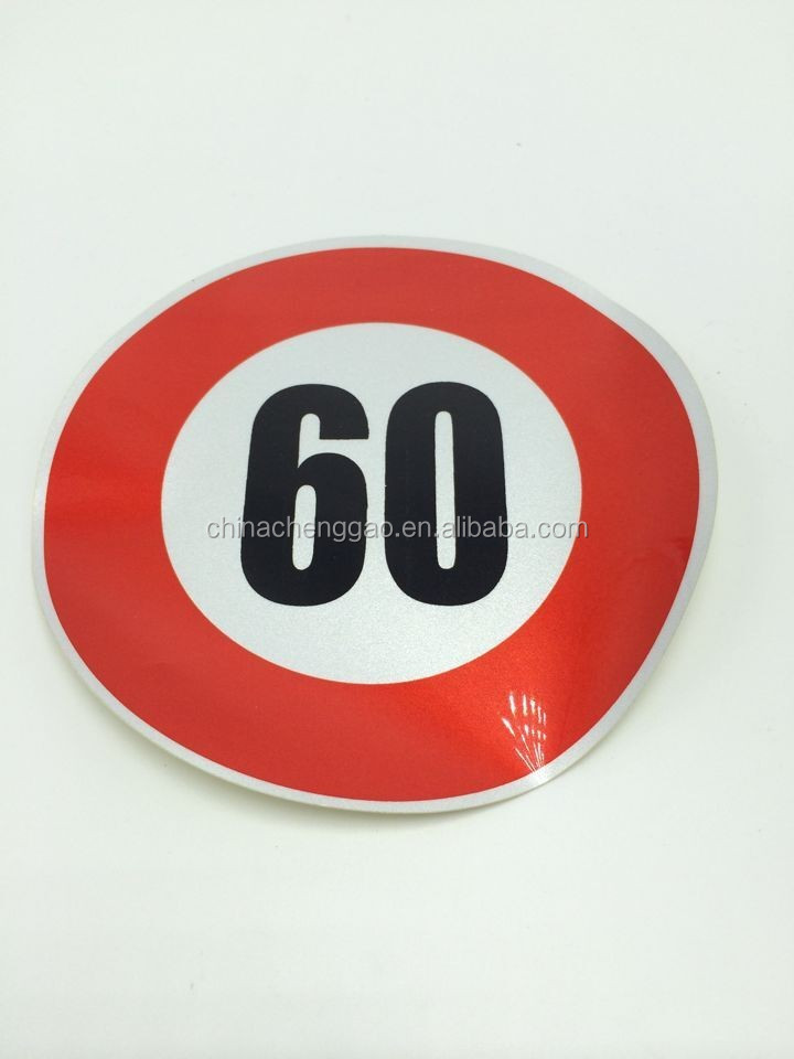 gow in the dark fabric traffic signs