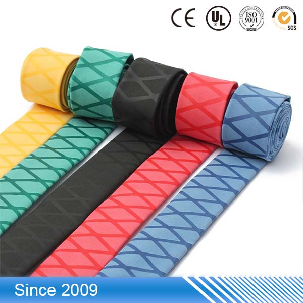 wholesale fadeless silicone cable soft viton rubber heat shrink sleeve