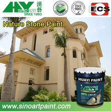 professional customized decorative stone paint/coating for building wall