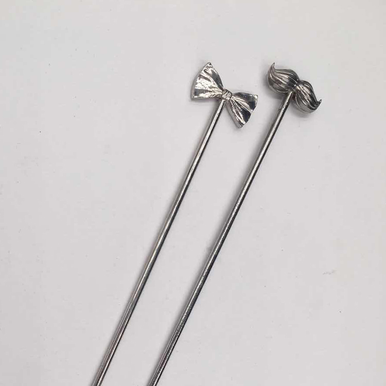 New hot selling products Stainless Steel Cocktail Stirrers Swizzle Stick