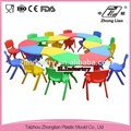 Colorful modern easy assembling school children furniture, kindergarten furniture
