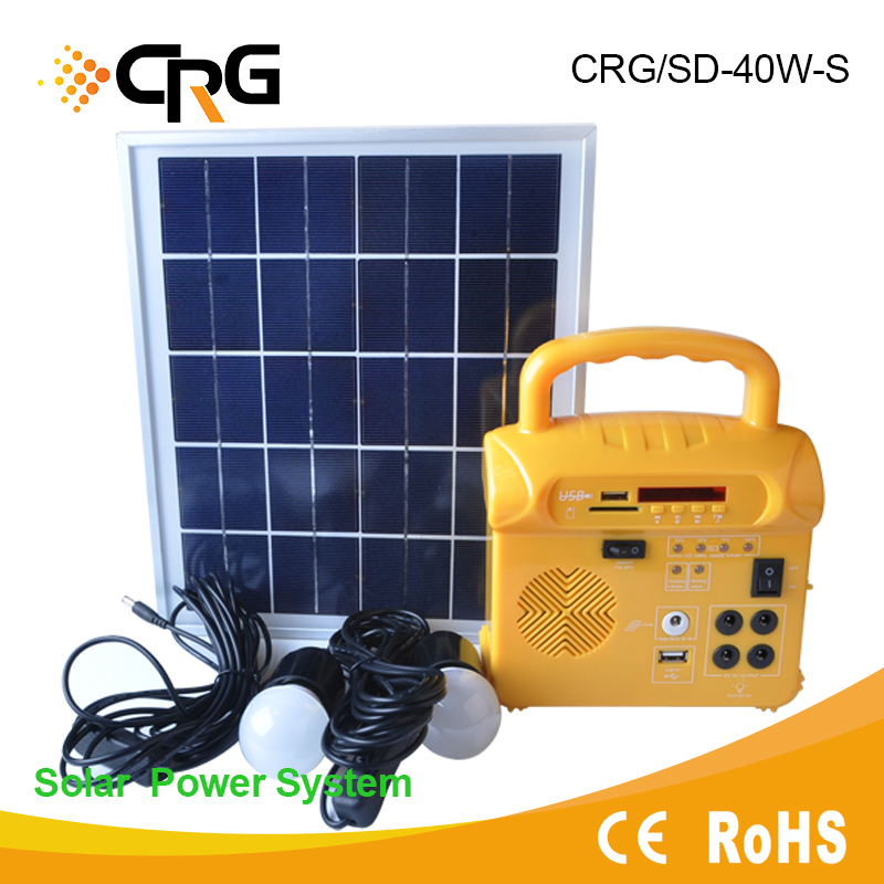 Portable solar energy product and new Home Solar Energy System for African Indian market
