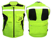 Hi Vis Reflective Safety Vest with Pockets