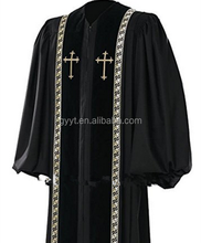 High Quality Cheap Pulpit Clergy Robe Clergy Church Robes