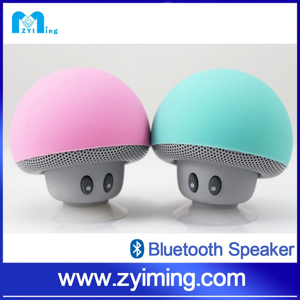 Zyiming wholesale mini cute mushroom s10 cheap blutooth tower speaker