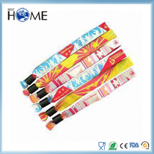 Personalized Imprint Cutom Cloth Festival Event Wristband for Activity