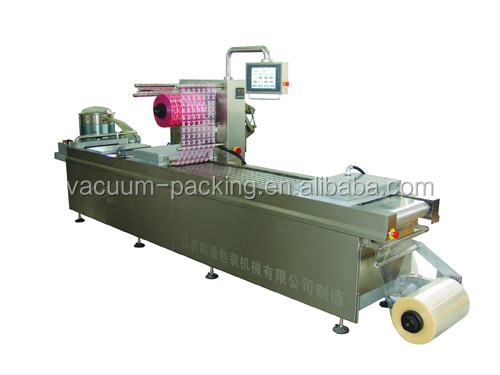 cheese bread automatic vacuum packing machine
