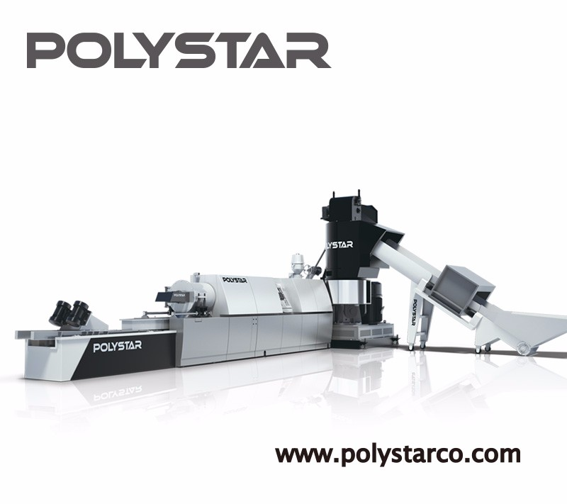 polystyrene recycling machine