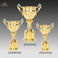European Classic Gold Metal Trophy Cup