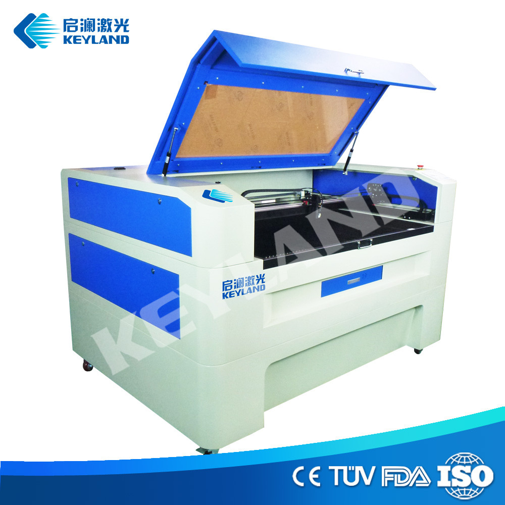 Double head cnc laser cutter 80w 1390 cutting engraving cardboard paper